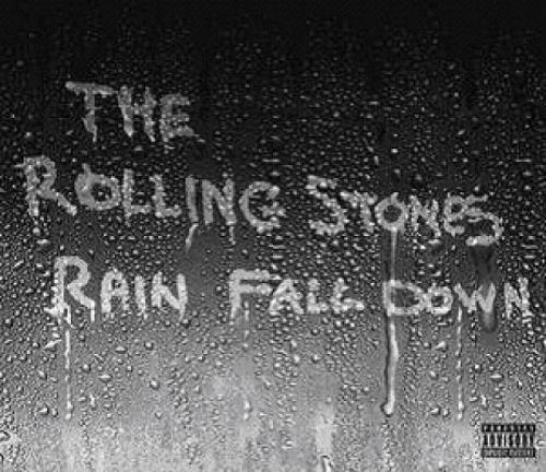 "Rolling Stones Rain Fall Down CD single (CD5 / 5"") UK ROLC5RA342621"