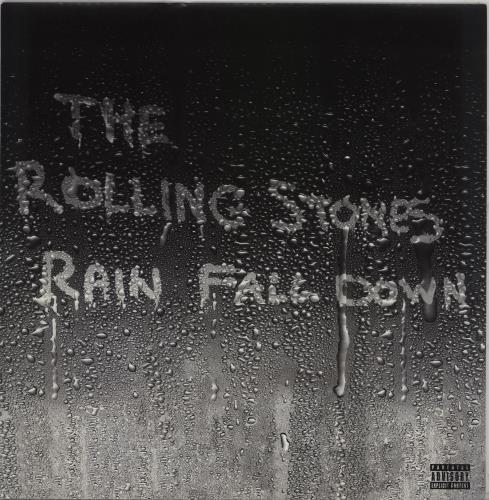 "Rolling Stones Rain Fall Down 12"" vinyl single (12 inch record / Maxi-single) UK ROL12RA342623"