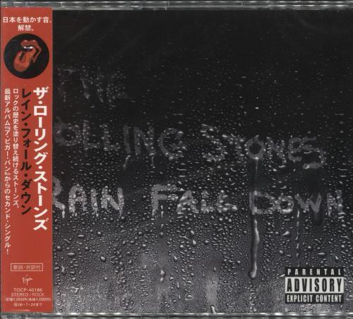 "Rolling Stones Rain Fall Down CD single (CD5 / 5"") Japanese ROLC5RA343980"