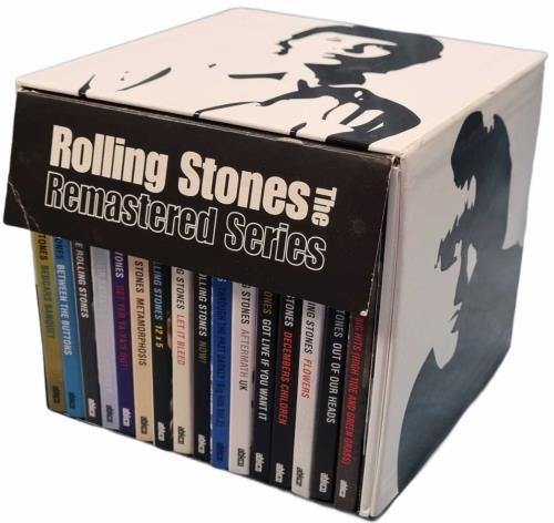 Rolling Stones Remastered Series - Complete CD Album Box Set UK ROLDXRE771381