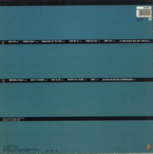 Rolling Stones Rewind 1971-1984 vinyl LP album (LP record) UK ROLLPRE719278