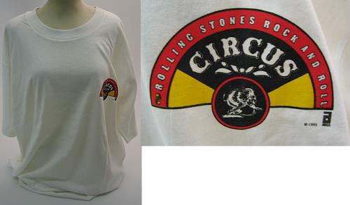 d45bc2e4 Official ROLLING STONES Rock And Roll Circus (Official US ABKCO  short-sleeved heavweight cotton T-shirt, distributed in advance of the 2004  DVD release of ...