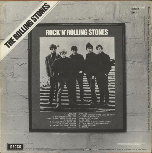 Rolling Stones Rock 'N' Rolling Stones vinyl LP album (LP record) French ROLLPRO708878