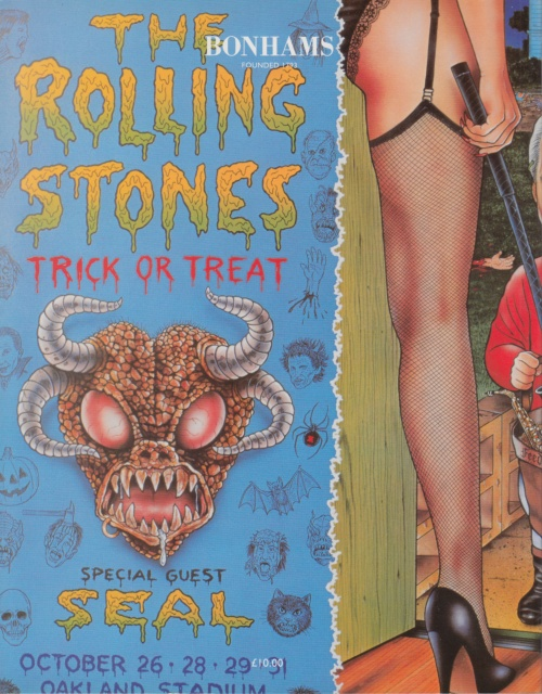 Rolling Stones Rock, Pop And Guitars press book UK ROLPBRO640612