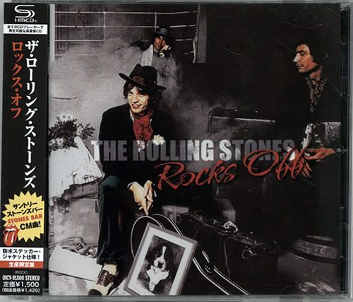 Rolling Stones Rocks Off SHM CD Japanese ROLHMRO588825