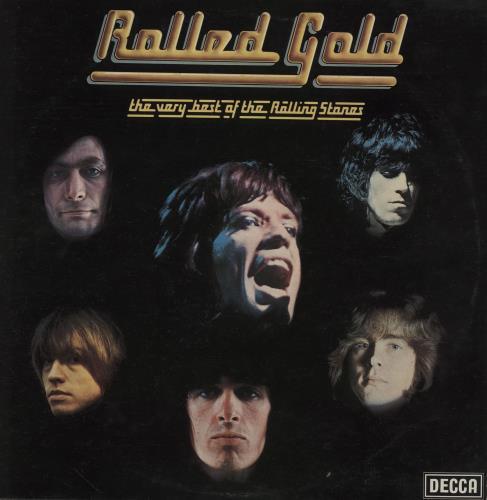 Rolling Stones Rolled Gold - 1st - EX vinyl LP album (LP record) UK ROLLPRO549657
