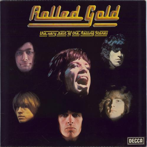 Rolling Stones Rolled Gold 2nd Uk 2 Lp Vinyl Record Set