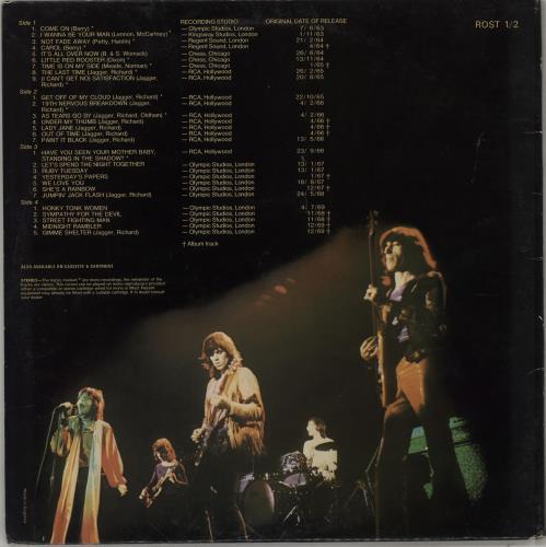 Rolling Stones Rolled Gold - 3rd 2-LP vinyl record set (Double Album) UK ROL2LRO764233