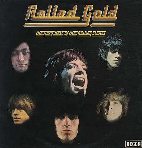 Rolling Stones Rolled Gold - Silver Label 2-LP vinyl record set (Double Album) UK ROL2LRO60371