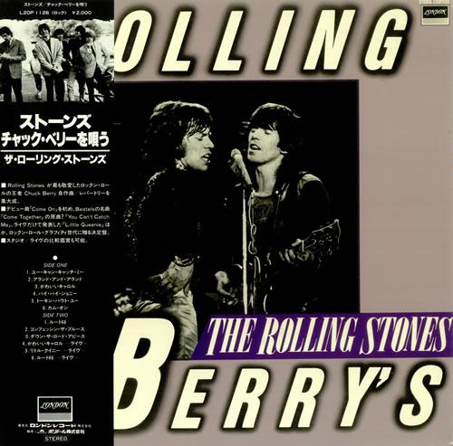 Rolling Stones Rolling Berry's + Obi - Mint vinyl LP album (LP record) Japanese ROLLPRO57797