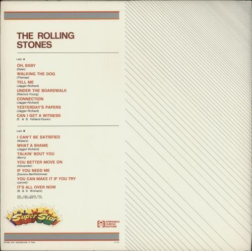 Rolling Stones Rolling Stones - Superstar - EX vinyl LP album (LP record) Italian ROLLPRO674489