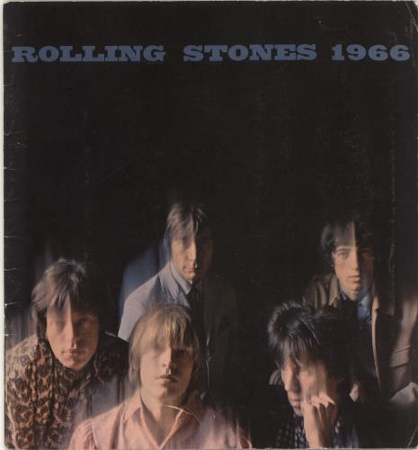 Rolling Stones Rolling Stones 1966 tour programme US ROLTRRO267405