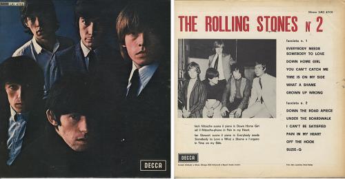 Rolling Stones Rolling Stones No 2 Italian Vinyl Lp Album