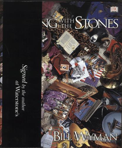 Rolling Stones Rolling With The Stones - Autographed book UK ROLBKRO638369