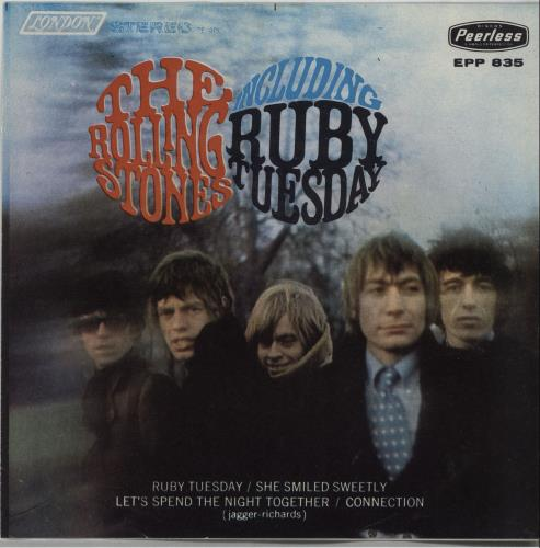 "Image result for The ROLLING STONES - "" Ruby Tuesday "" images"