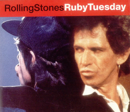 Rolling Stones Ruby Tuesday 2-CD single set (Double CD single) UK ROL2SRU533301