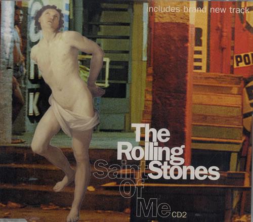 "Rolling Stones Saint Of Me - Cd2 CD single (CD5 / 5"") UK ROLC5SA104059"