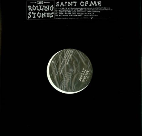 "Rolling Stones Saint Of Me - DJ Double Pack 12"" vinyl single (12 inch record / Maxi-single) UK ROL12SA101305"