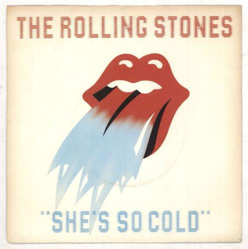 """Rolling Stones She's So Cold - 4pr 7"""" vinyl single (7 inch record) UK ROL07SH45341"""