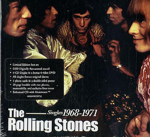 Rolling Stones Singles 1968-1971 [Volume Three] - Sealed UK