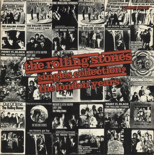 Rolling Stones Singles Collection - The London Years CD Album Box Set US ROLDXSI242930