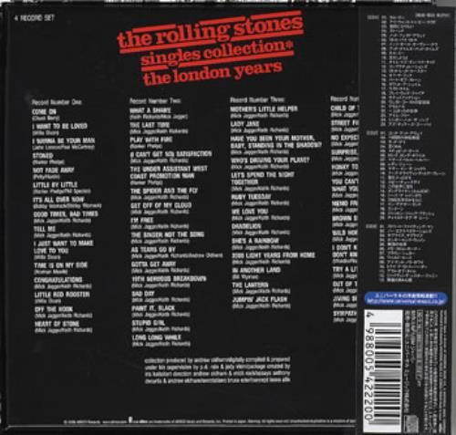 Rolling Stones Singles Collection The London Years