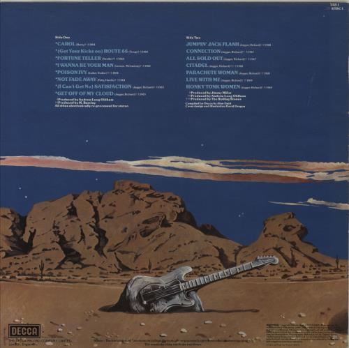 Rolling Stones Solid Rock - 1ST vinyl LP album (LP record) UK ROLLPSO764293