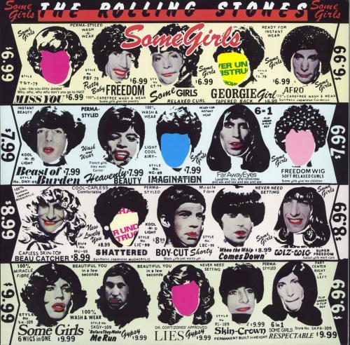 Rolling Stones Some Girls - 180gram Vinyl - Half Speed Master vinyl LP album (LP record) UK ROLLPSO767803