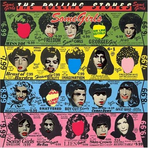 Rolling Stones Some Girls CD album (CDLP) UK ROLCDSO472024