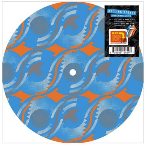 "Rolling Stones Steel Wheels - Live - RSD 2020 10"" Vinyl Picture Disc (10"" Record Single) UK ROL1PST753117"