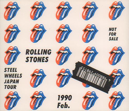 Rolling Stones Steel Wheels Japan Tour 2 CD album set (Double CD) Japanese ROL2CST364921