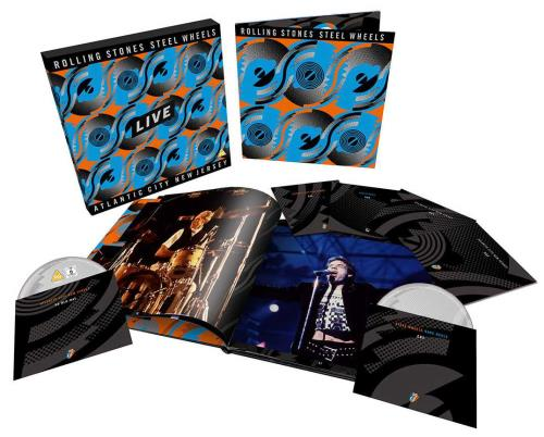 Rolling Stones Steel Wheels Live - Special Limited Edition CD Album Box Set UK ROLDXST753149