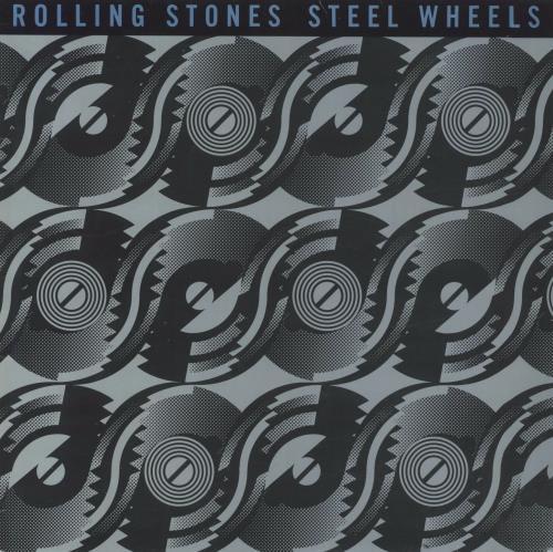 Rolling Stones Steel Wheels vinyl LP album (LP record) UK ROLLPST74972