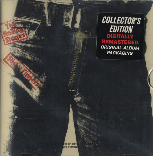 Rolling Stones Sticky Fingers Remastered Collectors Edition Uk Cd