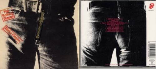 Rolling Stones Sticky Fingers - Zipper Slv UK CD album (CDLP