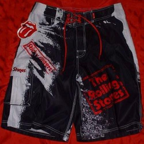 Rolling Stones Sticky Fingers Board Shorts 30 Quot Waist Uk