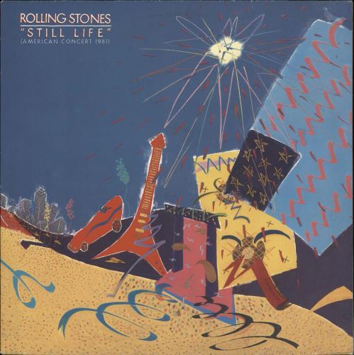 Rolling Stones Still Life (American Concert 1981) vinyl LP album (LP record) Dutch ROLLPST708861