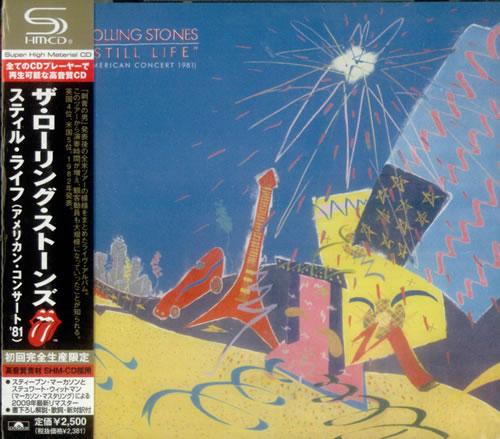 Rolling Stones Still Life [American Concert 1981] SHM CD Japanese ROLHMST485251