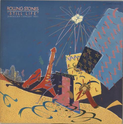 Rolling Stones Still Life vinyl LP album (LP record) Japanese ROLLPST713250