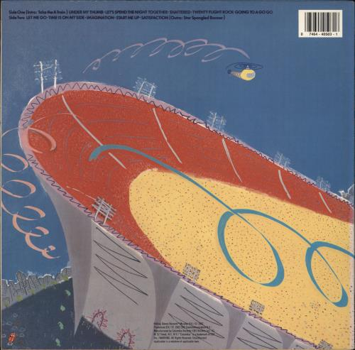 Rolling Stones Still Life vinyl LP album (LP record) US ROLLPST767447