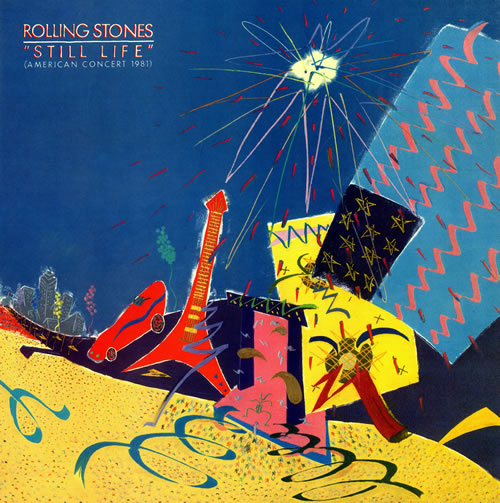 Rolling Stones Still Life vinyl LP album (LP record) UK ROLLPST77710