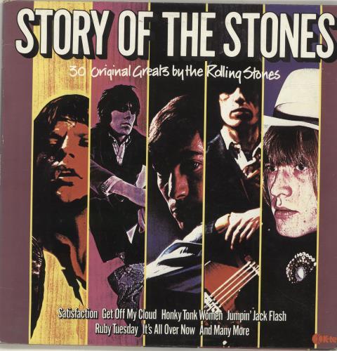 Rolling Stones Story Of The Stones 2-LP vinyl record set (Double Album) UK ROL2LST77080