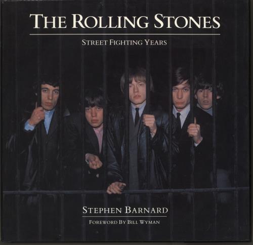Rolling Stones Street Fighting Years book UK ROLBKST708710