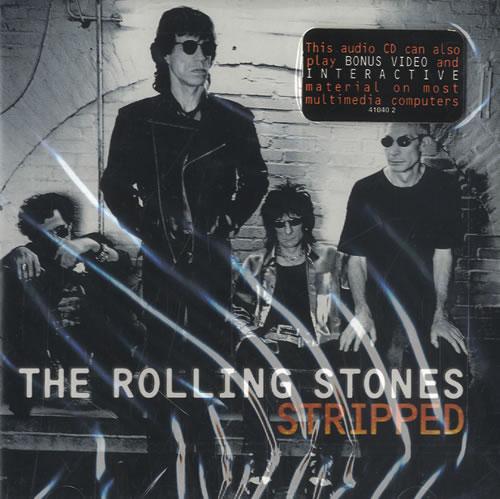 Rolling Stones Stripped CD album (CDLP) US ROLCDST470056