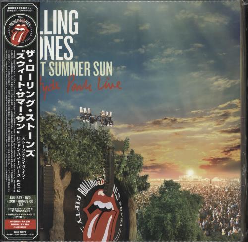Rolling Stones Sweet Summer Sun - Hyde Park Live Vinyl Box Set Japanese ROLVXSW706301