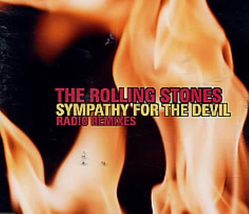 """Rolling Stones Sympathy For The Devil - Radio Remixes CD single (CD5 / 5"""") UK ROLC5SY254550"""