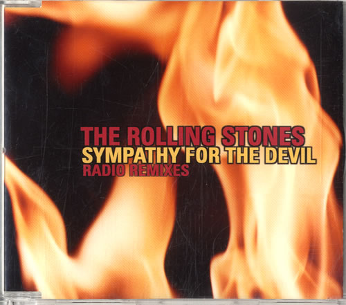 """Rolling Stones Sympathy For The Devil - Radio Remixes CD single (CD5 / 5"""") Japanese ROLC5SY580308"""