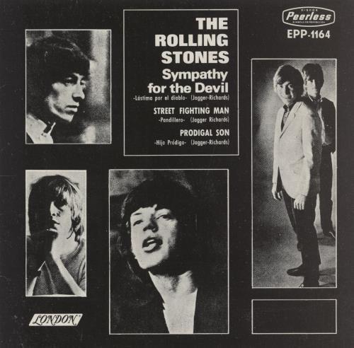 Rolling Stones Sympathy For The Devil Mexican 7 Quot Vinyl
