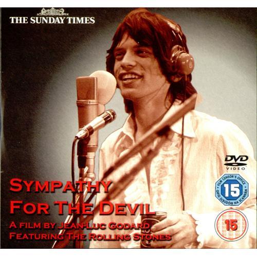 Rolling Stones Sympathy For The Devil DVD UK ROLDDSY416308
