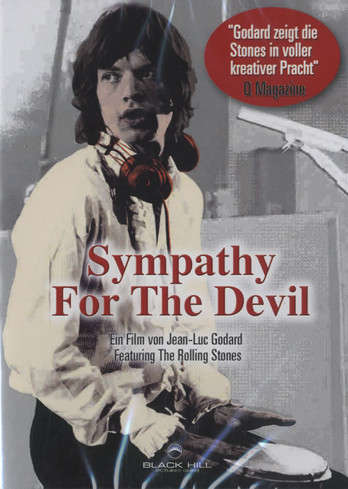 Rolling Stones Sympathy For The Devil DVD German ROLDDSY452208